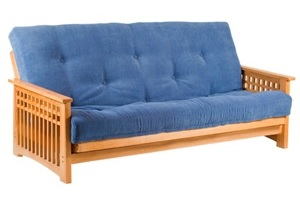 Lovely quality Oak framed Futon Sofa bed from www.futonworld.co.uk