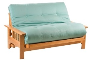 Iowa Oak Futon Sofa Bed from Futon World