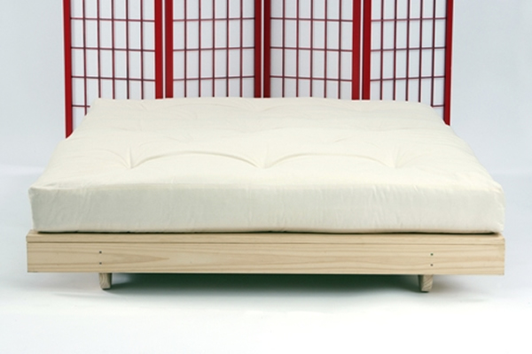 Acer futon low futon bed frame for Low level sofa bed