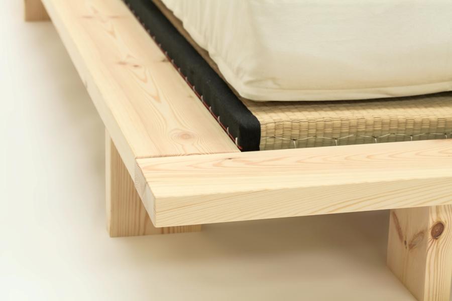 Sakura oriental low bed for Futon e tatami