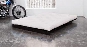 Seto Futon Bed in Wenge finish
