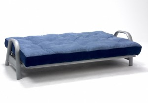The Metro Futon as a full size double bed.