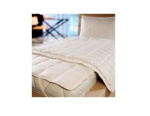 All cotton quilted mattress protector.