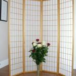 Natural Shoji Oriental Screen