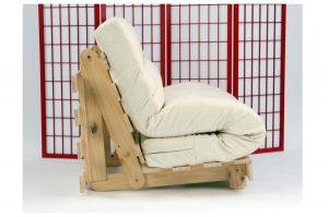 The tri-fold style futon mattress