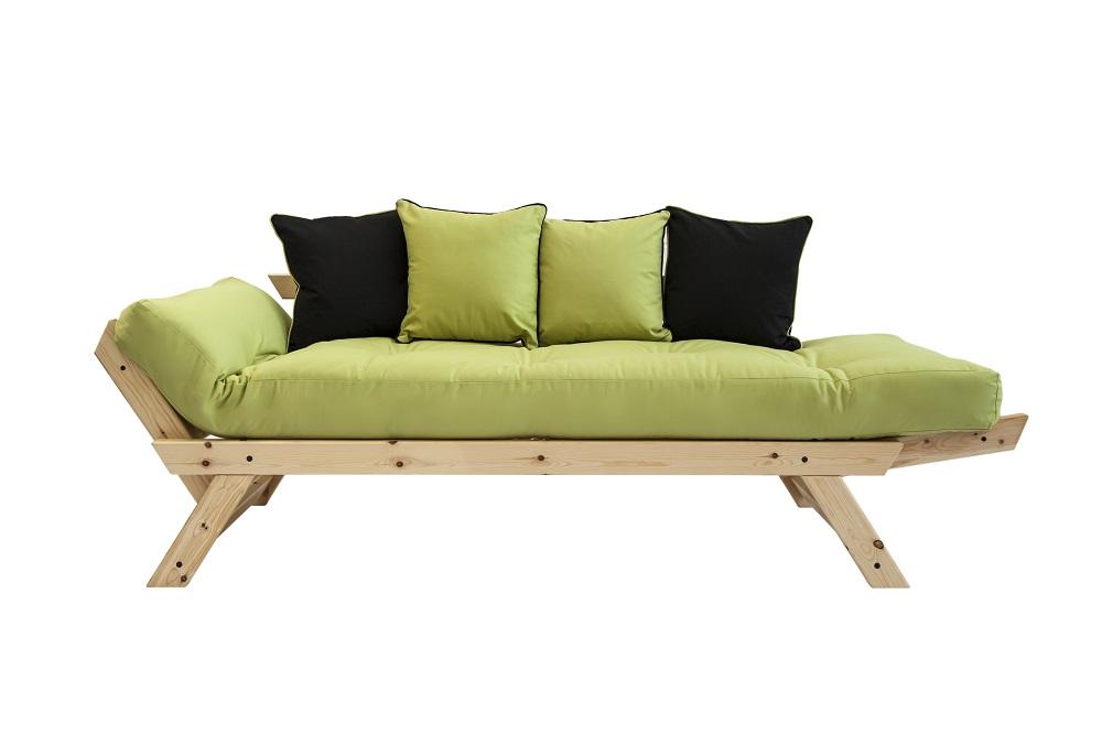 Bebop 2 seat futon daybed for Futon para sofa cama