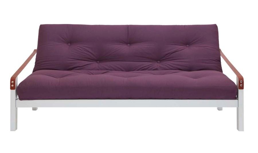 Poetry 3 Seat Futon Sofa Bed