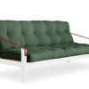 Poetry Futon in Olive fabric