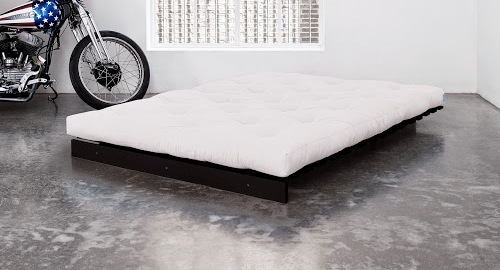 Seto Traditional Futon Bed Frame