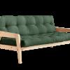 Metro with Olive Green futon