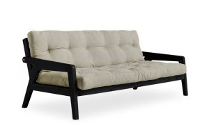 Metro futon with Linen mattress
