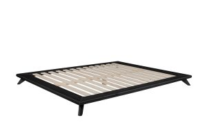 Senza Bed Frame Black Finish